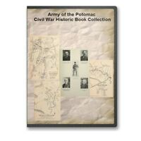 Army of the Potomac Civil War Collection - 37 Historic Books on CD - D459