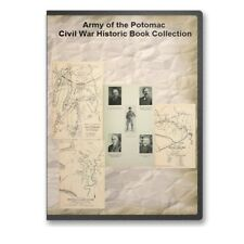 Army of the Potomac Civil War Rebellion Collection 37 Historic Books on CD D459