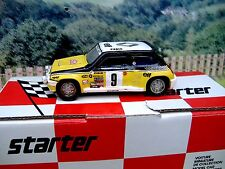 1/43 Starter (France) Renault  5 turbo Rally Monte Carlo 1981  Resin  Car