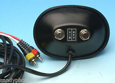 VINTAGE STYLE BLACK FOOTSWITCH FOR FENDER BLACKFACE/SILVERFACE AMPS 2 RCA PLUGS