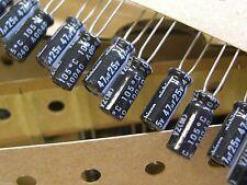47uf 25v,105C, Radial Electolytic Capacitors 15 pcs