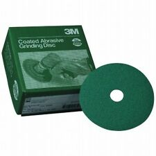 "3M 1914 5"" 36 GRIT Green Corps Fibre Sandpaper Grinding Disc 20 in a box, 01914"