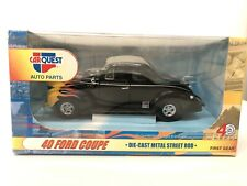 1940 Ford Coupe Street Rod 1st First Gear 1:24 Carquest