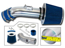BCP BLUE For 10-12 Mazda3 3 2.5 2.5L L4 Racing Ram Air Intake Kit +Filter