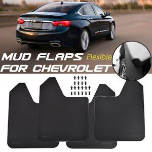 Front&Rear Mud Flaps For Chevrolet Splash Guards Mudguards Mudflap Fender