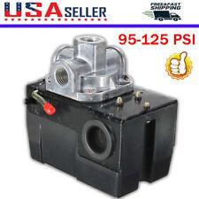 Pressure Switch Control Valve Air Compressor 95-125PSI 4 PORT HEAVY DUTY 26 AMP