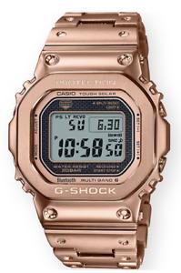 Casio G-Shock Full Metal Rose Gold GMWB5000GD-4 Solar Power Bluetooth Multiband6