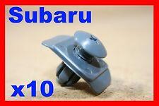 10 SUBARU bumper fender push type retainer clip
