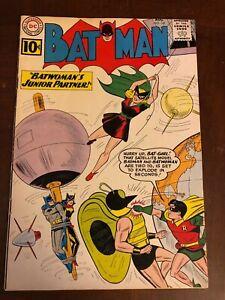 Batman 141: Early Appearance of Batgirl August 1961 Barbara Gordon Betty Kane