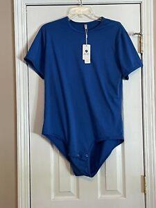 iEFiEL mens medium one piece  body suit  shirt  NWT
