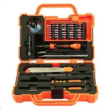 Details about  45 in 1 JAKEMY Precision Screw Driver Repairing Tools Set for Ipo