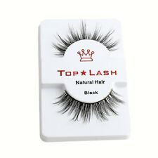 TOP LASH 3D 100% MINK LUXURY FALSE LASHES FAKE EYELASHES LONG THICK VOLUME UK