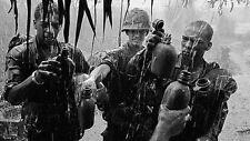 Vietnam War U.S. Army Soldiers Thirst For Rain Water 8.5x11 Rare Photo