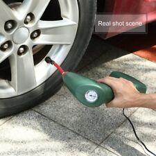 12V Car Handheld Portable Mini Air Compressor Tire Inflator Pump Emergency Kit