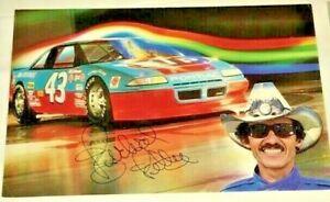 Richard Petty 1988 STP #43 PONTIAC 30th ANNIVERSARY WINSTON CUP signed 6x9 photo