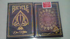 CARTE DA GIOCO BICYCLE ONE MILLION RED,poker size