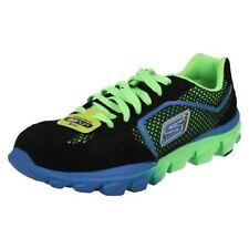 Chaussures noirs Skechers à lacets pour garçon de 2 à 16 ans