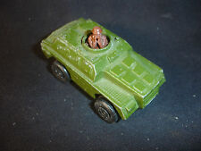 1973 Old Vtg Diecast Matchbox Rolamatics #73 Military Army Weasel Toy