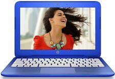 "HP Stream 11.6"" Lightweight Laptop Intel 2.16GHz 32GB WebCam WiFi HDMI Blue"
