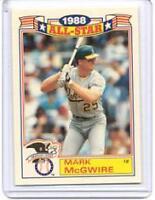 1989 Topps Glossy All-Stars Baseball Card Pick