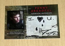2015 Cryptozoic PENNY DREADFUL TV season 1 autograph card Harry Treadaway HT VAR