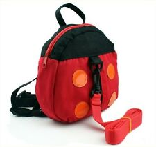 Baby Child Toddler Safety Harness Backpack Walker Anti-lost Ladybird Book Bag