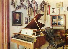 Carte AUTRICHE STIFT ST. FLORIAN Gendekzimmer für Anton Brucknert Piano
