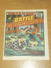 BATTLE ACTION FORCE 27TH APRIL 1985 BRITISH WEEKLY IPC MAGAZINE