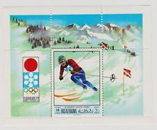 Yemen 1968 Olympiade Games Winter Sport Ski Lot Auslese Briefmarken