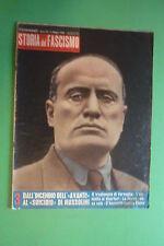 Histoire Du Fascisme 3/1960 Aquatique Avec Photo L'Incendie Dell'Avanti Duce