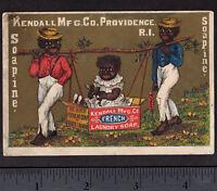 Charlotte Perkins Gilman 1880's Black Princess Soapine Soap Victorian Trade Card
