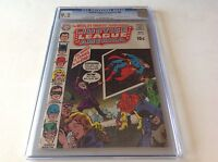 JUSTICE LEAGUE OF AMERICA 80 CGC 9.2 THE WORLD IS COMING TO AN END DC COMICS
