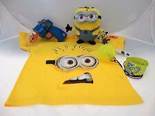 "Universal Studios ""Despicable Me"" 3 piece set Minion, T-shirt, Ball, & *Bonus*"