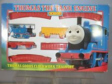"""HORNBY RAILWAYS CLOCK WORK MODEL No.R927 """"THOMAS"""" FREIGHT TRAIN SET  MIB"""