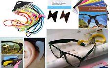 Eye Glasses Anti-slip Silicone Ear Grips + Band + Free Shipping