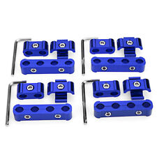 12pcs Aluminum Engine Spark Plug Wire Separator Divider Organizer Clamp 8/9/10mm