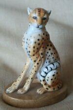 Halcyon Days Cheetah Porcelain Sitting