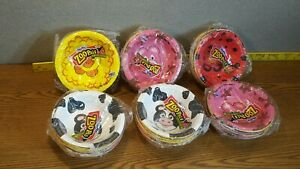 1 Package Vintage Hefty Zoo Pals Farm Collection Bowls Sealed 20 Count Animals