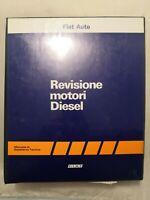 Manuale di assistenza tecnica REVISIONE MOTORI DIESEL Fiat Auto 1986