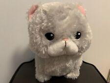 Big Chimari Munchkin Gray Cat hachiware Ojiki Plush Neko Grumpy Chinmari
