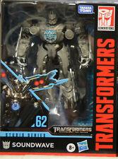 Transformers Studio Series Deluxe Soundwave #62 Figure Hasbro In Stock