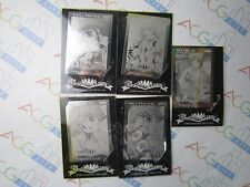 Anime Game Welcome to Pia Carrot 2 Metal Etching Trading Card Set of 5 Japan