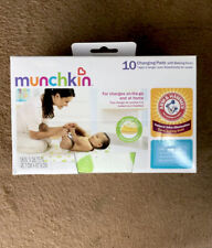 Munchkin Brand Changing Pads With Baking Soda. Pack Of 10