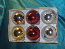 Christbaumkugeln Glas Kupfer.Ddr Weihnachtskugeln Ebay