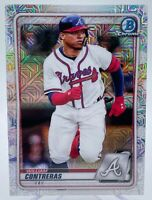 William Contreras 2020 Bowman Chrome Mojo Refractor Prospect Rookie HOT QTY.