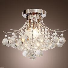 Modern Crystal Chandelier Ceiling Lamp Lighting Fixture Flush Mount Pendant Lamp