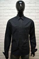 Camicia G-STAR Uomo Grigio Taglia L Maglia Polo Manica Lunga Casual Cotone Hemd