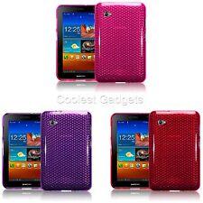 For Samsung Galaxy P6200 Tab 7.0 Hexagonal TPU Silicone Skin Gel Case Cover