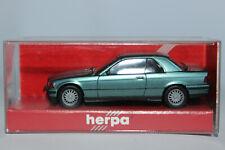 BMW 3er E36 Cabrio mit Hardtop grünblaumetallic  Herpa  1:87