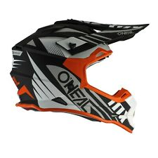 Oneal 2 series Rl Spyde Adulto Mx Atv Quad Bike Racing Enduro Casco Naranja Blanco